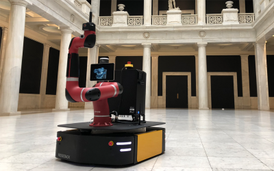 Sawyer Enjoys Increased Freedom of Mobility Through Clearpath and Rethink Robotics Partnership