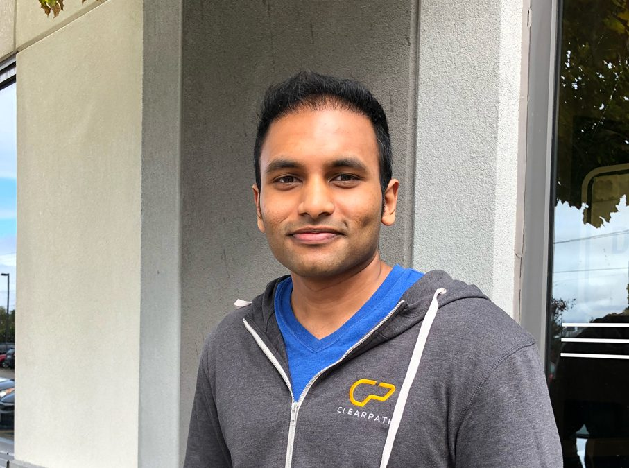 Humans of Clearpath: Meet Nikesh