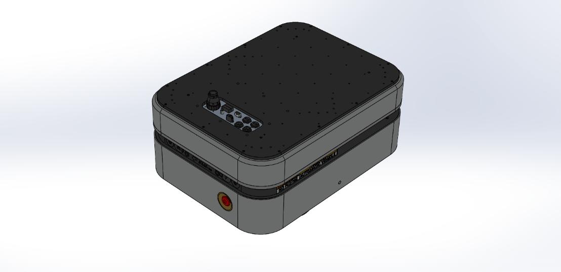 Boxer UGV 3D Model - Clearpath Robotics