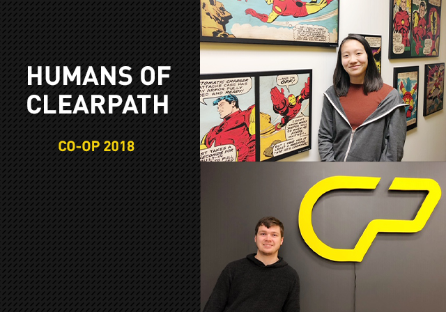 Humans of Clearpath: Fall 2018 Co-ops
