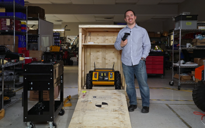 Husky UGV: Unboxing and Getting Started