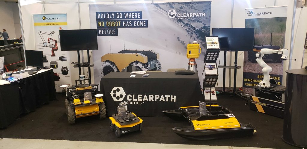 Clearpath ICRA 2019 Booth