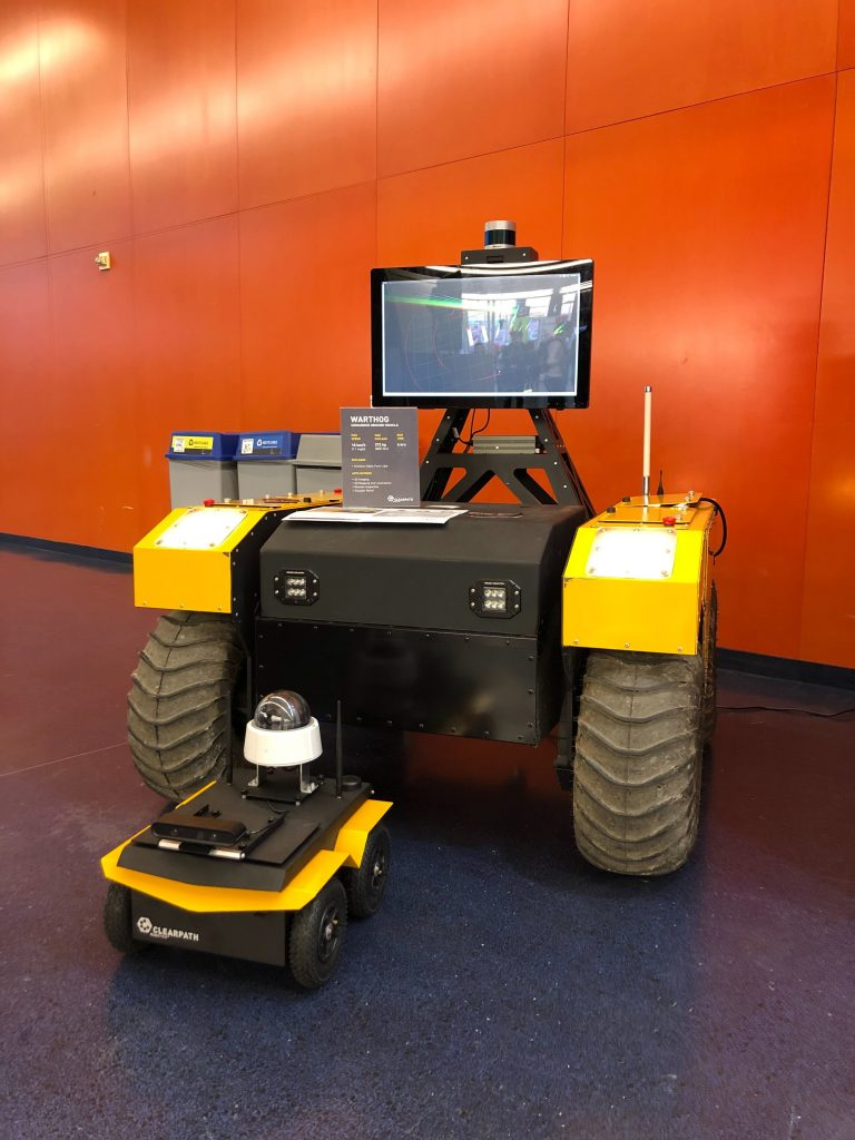 Clearpath's Husky and Jackal robots
