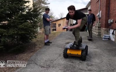 Husky UGV Finds a New Home with YouTube Creator: The Hacksmith