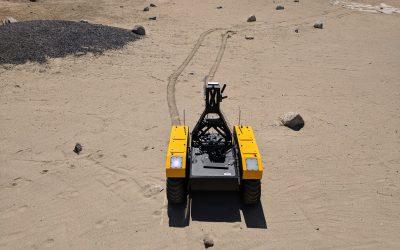 Warthog UGV Expedites Mission to Mars