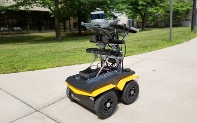 UMass Amherst Drives Computer Vision Research with Jackal UGV