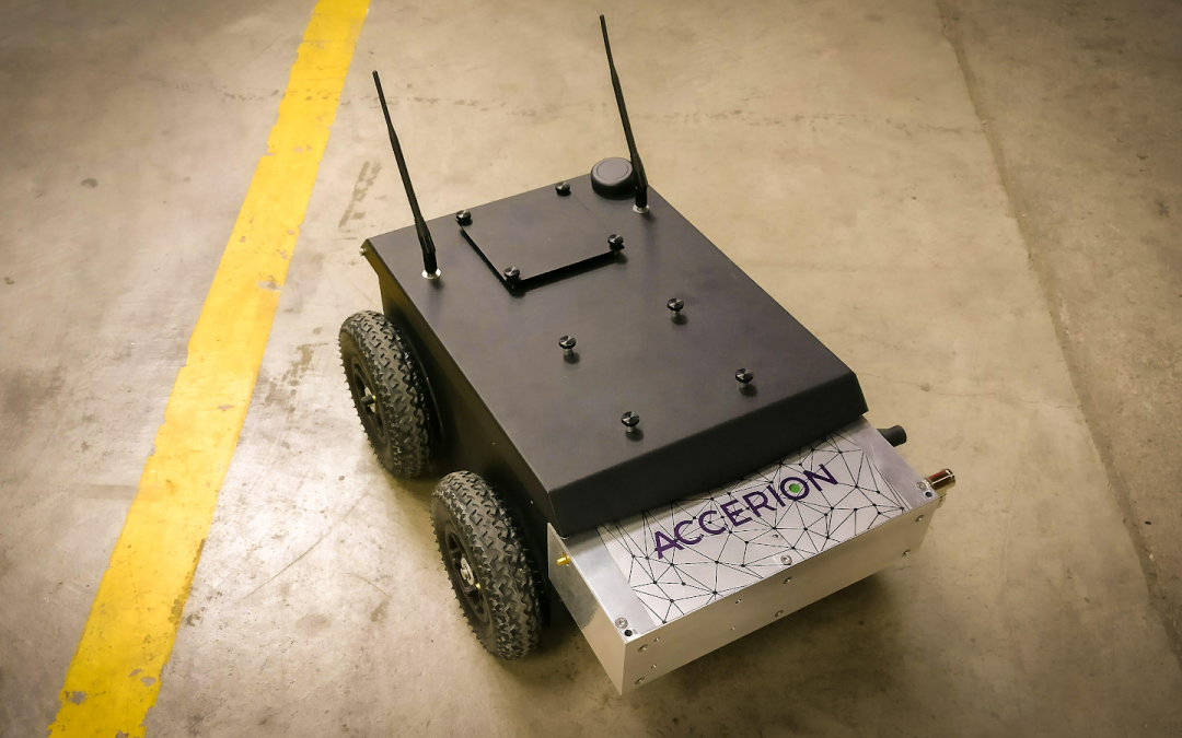 Accerion raises the bar for precise robot positioning