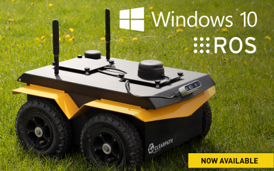 Clearpath Robotics Announces Support for ROS on Windows