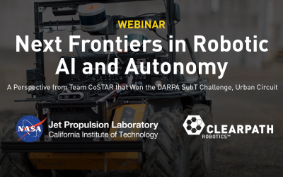 Webinar Recording: Next Frontiers in Robotic AI and Autonomy