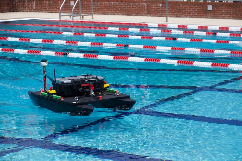 Research Team Uses Clearpath Simulation in Second Place Finish at RoboBoat 2020
