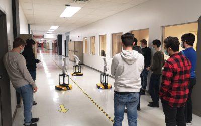 ÉTS Fosters Next Generation of Roboticists with Dingo Fleet