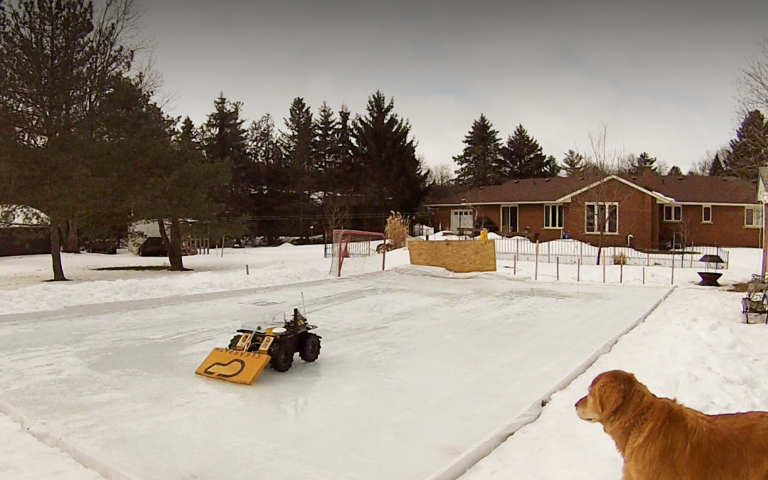 Autonomous Ice Resurfacer Tackles Skating Rink with GPS Navigation