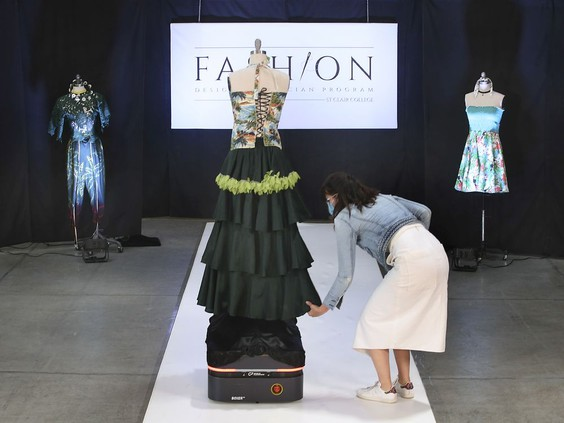 Boxer AMR Keeps St. Clair College Fashion Show Alive