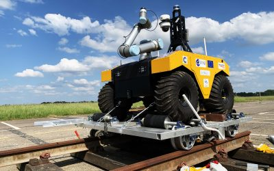Cranfield University and Network Rail Develop Autonomous Rail Inspection and Repair System