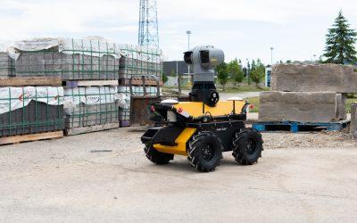 Behind the Robot: HITT's Construction Site Monitoring Husky UGV