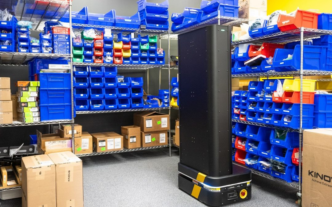 Behind the Robot: RFID Inventory Scanning Robot