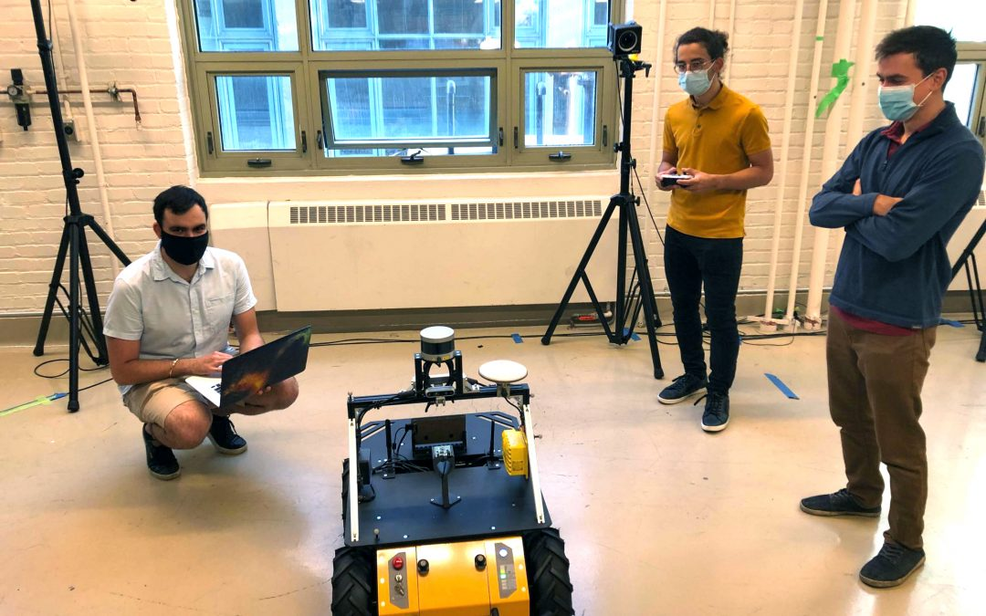 McGill University Predicts Indoor Robot Heading with Ultra-Wideband Technology