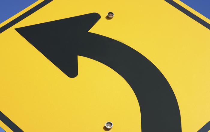 Arrow Symbol: Street Sign