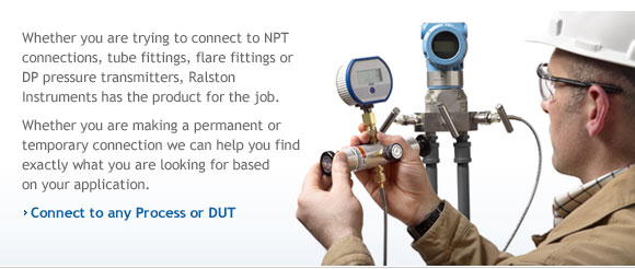 Pressure calibration in the field made easy