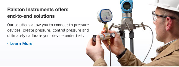 Our solutions allow you to connect to pressure devices, create pressure, control pressure and ultimately calibrate your device under test.