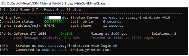 How to Mine Grin Coin with GrinGoldMiner