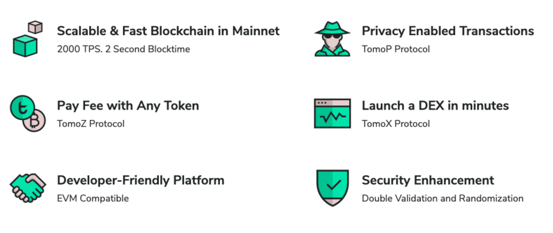 tomochain features