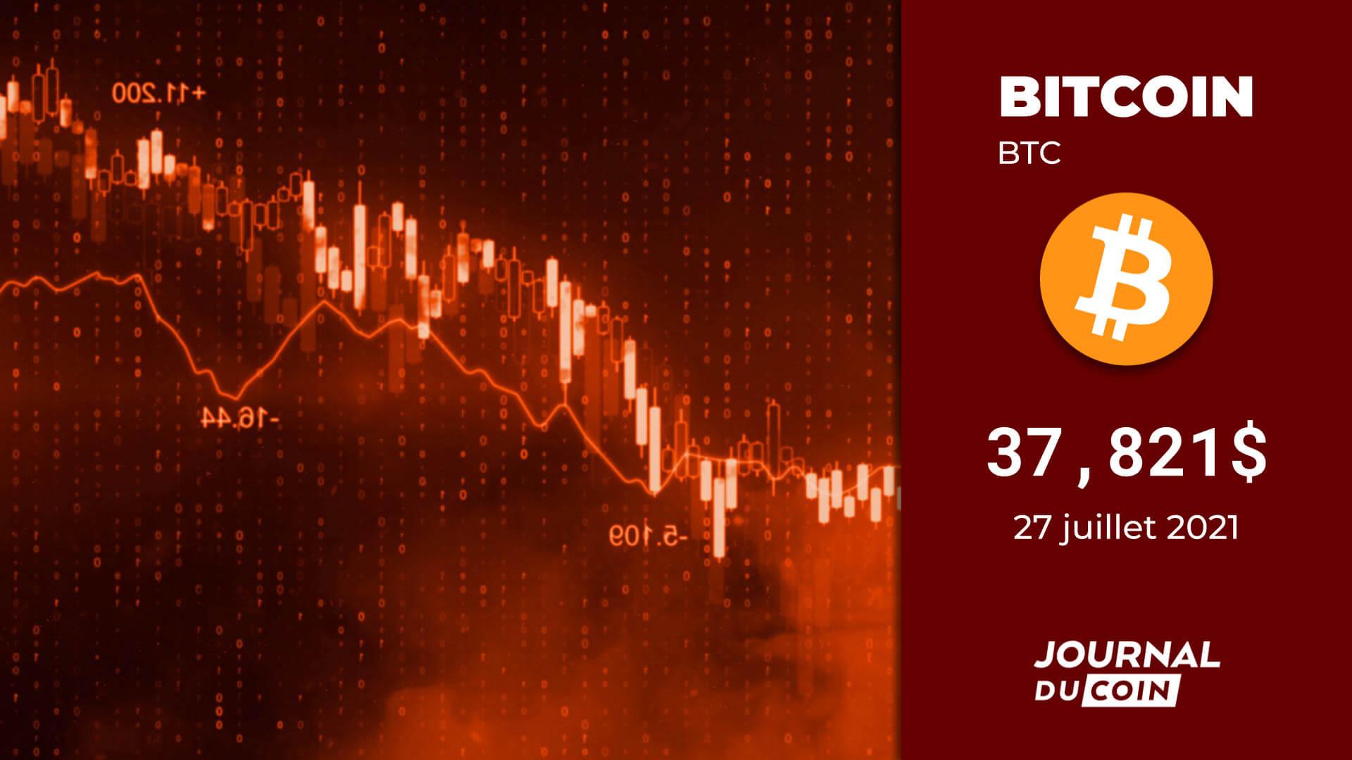 Bitcoin (BTC) le 27 juillet 2021 – Le mois de tous les dangers