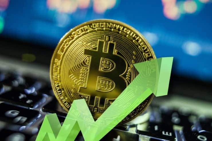Bitcoin (BTC) Shoots 8% Closing Above 200 EMA, $45,000 In Sight