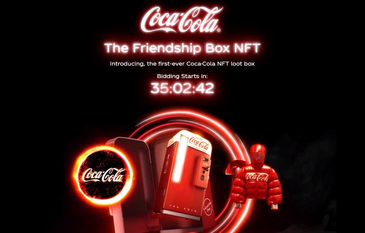 Coca-Cola vai lançar token colecionável no dia amizade