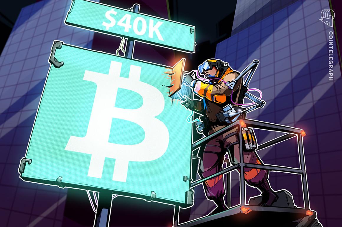 Bitcoin lotta a 40.000$ dopo la conferenza stampa 'più confusionaria' di Jerome Powell