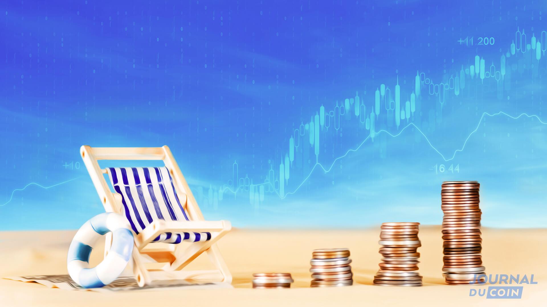 Des vacances sous le signe des revenus passifs ? Comment faire travailler vos cryptos tout en profitant du soleil