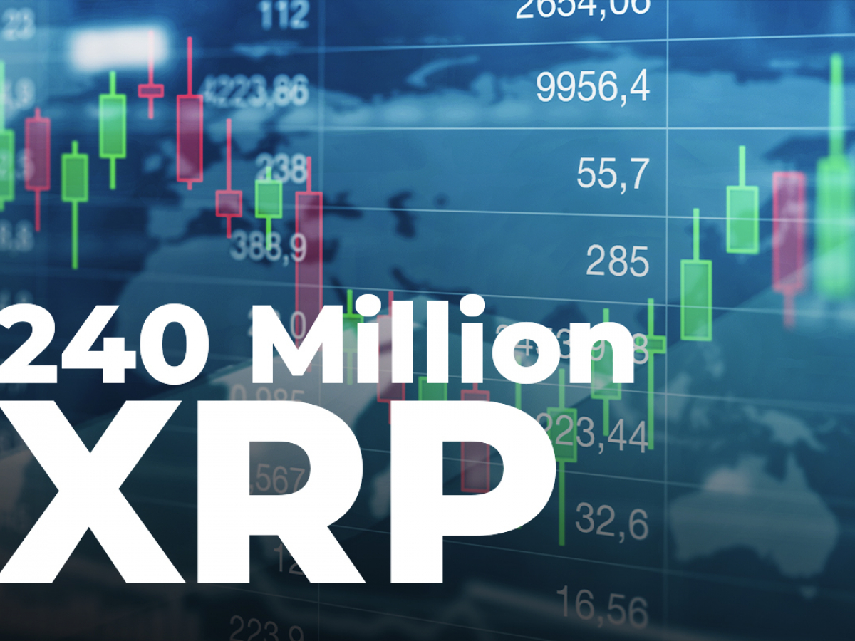 240 Million XRP Shifted by Ripple and Top Exchanges, While XRP Sits at $0.74