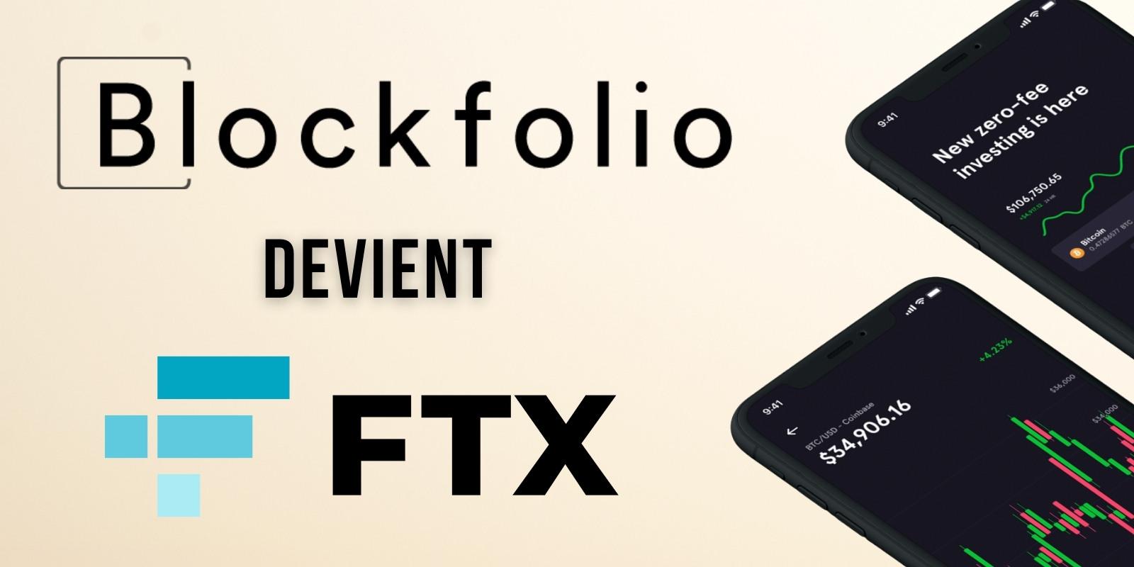FTX rebaptise l'application de trading Blockfolio en… FTX – Des changements à prévoir ?
