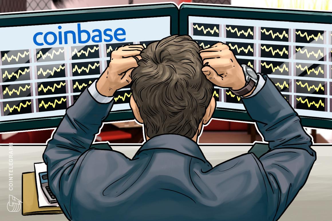 由于比特币暴涨期间流量激增5倍,Coinbase交易所无法访问