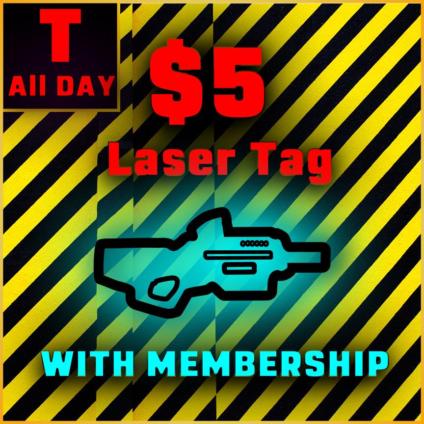 $5 Membership Tuesday