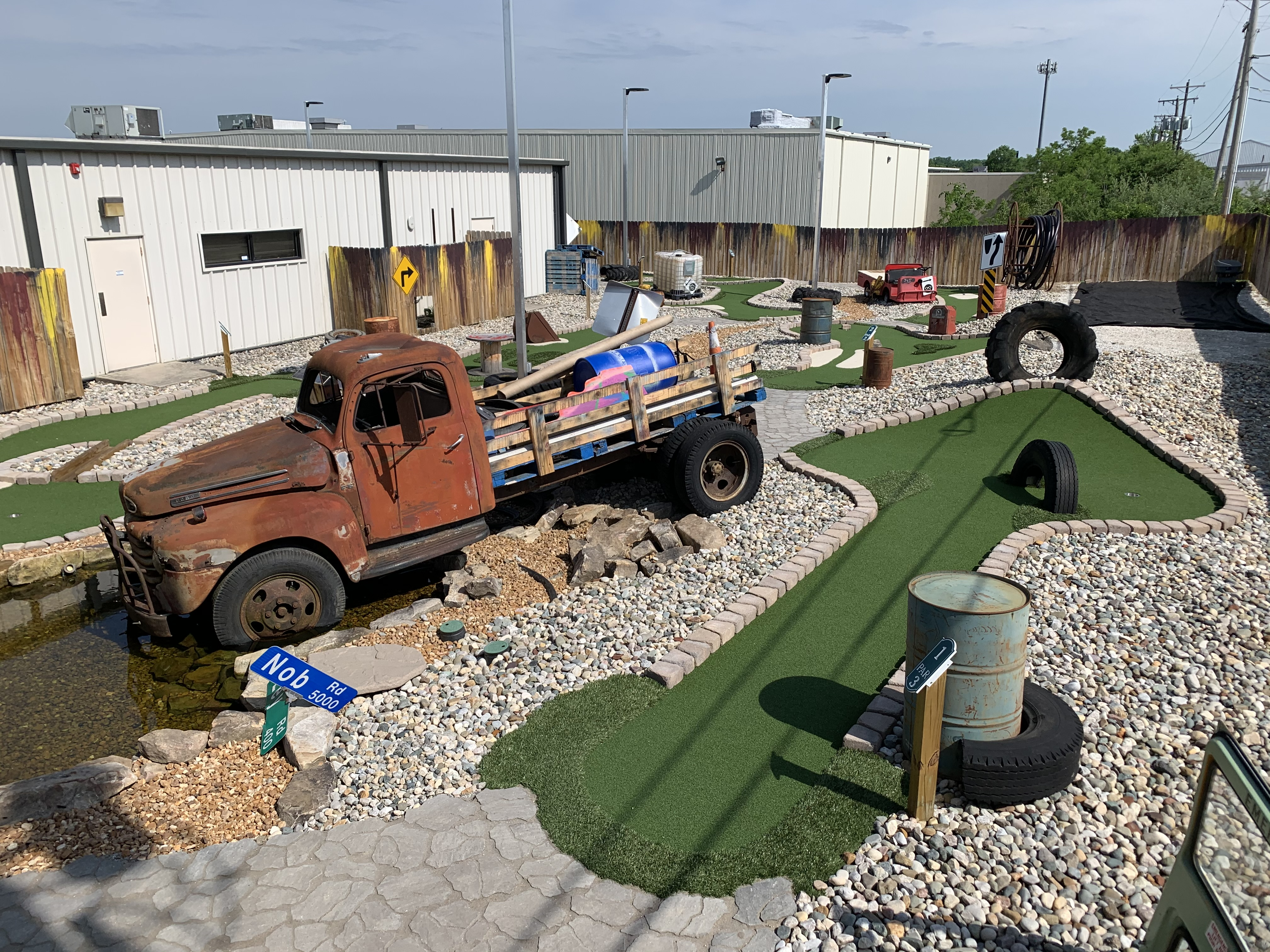 Step Up Your Mini Golf Game at Combat Ops
