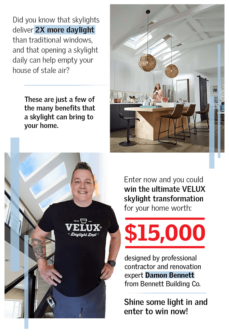 VELUX Sky's The Limit | HGTV Canada Contest