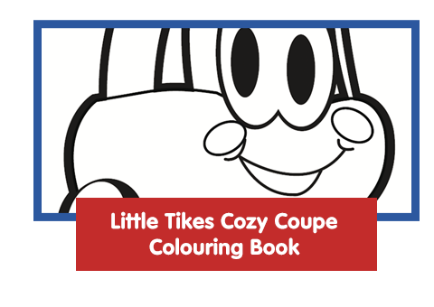 Little Tikes Cozy Coupe Colouring Book Activity