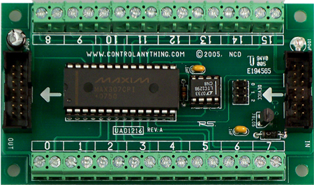 4 Channel ZigBee Wireless Relay Board