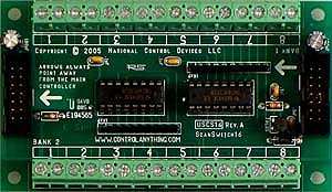 16-Channel Contact Closure Detector Expansion Module