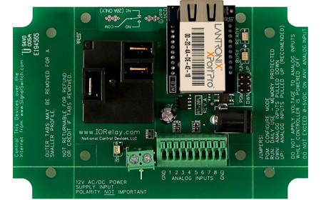 Web Based Android Relay - 1 High Power Relay with a Web-i