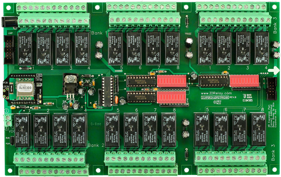 Bluetooth Relay Controller Board 24 Channel 5 Amp Dpdt