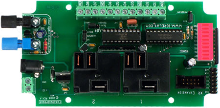 Fiber Optic Relay Controller 2-Channel 20 Amp SPDT + 8-Channel 8/10