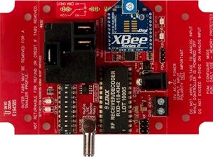 Key Fob Relay Controller with Break-Away Tabs
