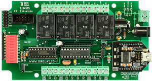 4 Channel USB Relay Control