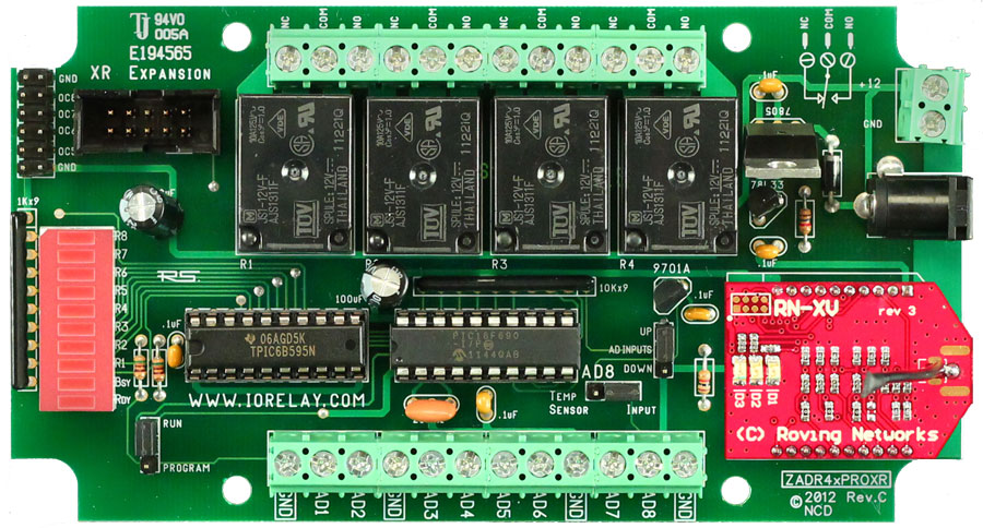 Wifi Relay Controller 4 Channel 5 Amp Spdt 8 Channel 8