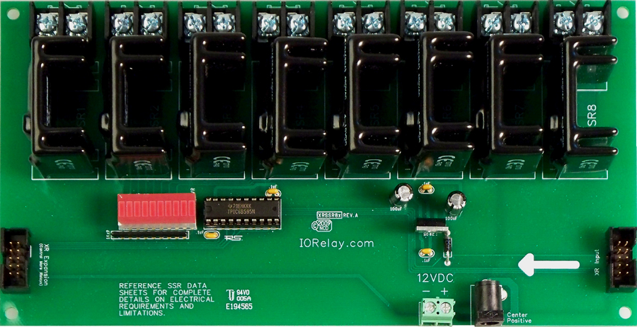 Expansion 8Channel Solid State Mixed SSR Relay Controller