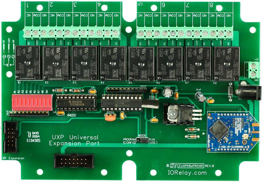 Xsc Wireless Relay Controller 8 Channel 5 Amp Spdt Uxp