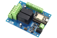 IFTTT Compatible Relay Controller With 2-Channel DPDT 3-Amp 6 Programmable Digital Input Output