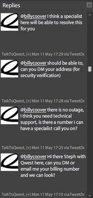 The twitter complaint card — CoovTech